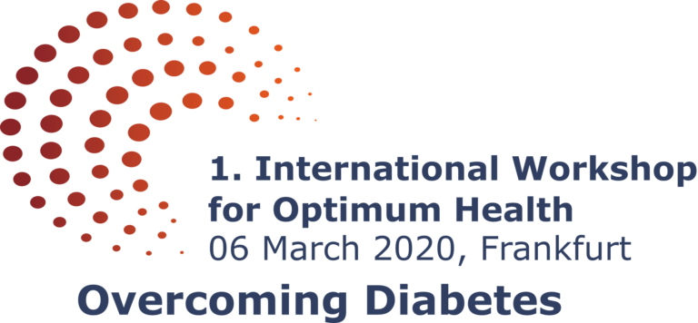1. International Workshop for Optimum Health: Overcoming Diabetes